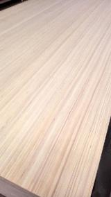 Veneer and Panels - Best prices, 18mm white ev poplar face/back plywood for melamine plywood