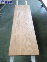 Buy And Sell Edge Glued Wood Panels - Register For Free On Fordaq - Solid Wood Panels made of White Ash Wood from Vietnam 18/20/24/30/33/40/45 mm