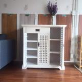 Rubberwood Shoe Cabinet from Vietnam