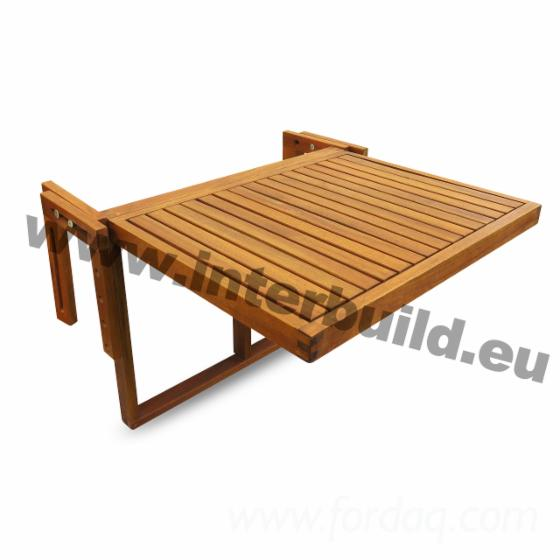 Balcony Table Drop Leaf Folding Patio