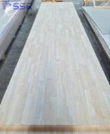 Buy And Sell Edge Glued Wood Panels - Register For Free On Fordaq - Rubber wood finger joint Laminated board/ Rubber wood panels