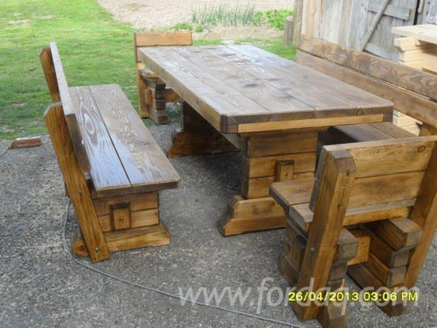 Traditional Oak Garden Sets