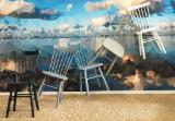 Wohnzimmermöbel - Stühle, Zeitgenössisches, 1 - 20 20'container Spot - 1 Mal
