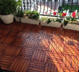 Piso y Terraza de Madera - Venta Terraza Antideslizante (1 Lado) Acacia