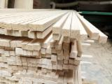 Sawn And Structural Timber China - Paulownia Squares, 26 x 26 mm