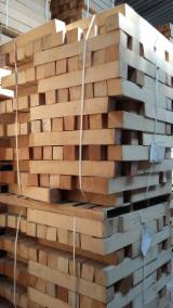 Sawn and Structural Timber - Beech Strips, 50 x 50 mm
