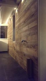 实木, 冷杉, 室内镶板
