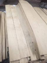 Sliced Veneer - Limba (Frake) Veneer, Flat cut - plain, 0.55 mm thick