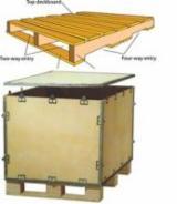 Europe Standard Wooden Pallets, 144 x 1000 x 1200 mm