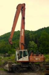 Austria Woodworking Machinery - Used Atlas 1804 MI 2003 Mobile Excavator For Sale Austria