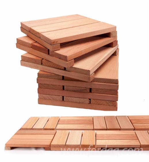 Eucalyptus Deck Tiles