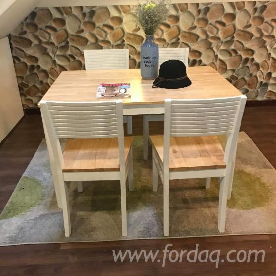 Rubberwood Dining Room Sets
