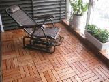 Exterior Wood Decking - Interlocking Deck Tiles - Installing in an Instant