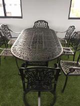 Négoce International De Meubles De Jardin - Achat Vente Sur Fordaq - Vend Ensemble De Jardin Rustique/Campagne Autres Matières Aluminium