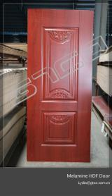 820X2150X3mm Melamine HDF Moulded Door Skin