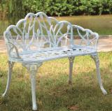 Art & Crafts/Mission Garden Furniture - Aluminium Bench