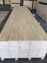 采购及销售端接板 - 免费注册Fordaq - 单层实木面板, 橡胶木