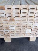 实木, 橡胶木, 模制