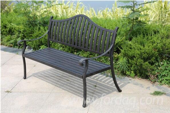 Astonishing Aluminium Garden Benches Gmtry Best Dining Table And Chair Ideas Images Gmtryco