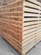 Laubschnittholz, Besäumtes Holz, Hobelware  Zu Verkaufen Polen - Parkettfriese, Eiche