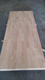 采购及销售端接板 - 免费注册Fordaq - 1 层实木面板, 白橡木