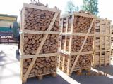 Firewood, Pellets And Residues - Birch Firewood Cleaved