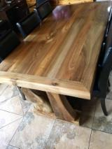 Dining Room Furniture - Country Walnut Rustic Dining Tables Romania