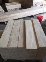 Wood Components - Rubberwood Finger Joined Stair Treads