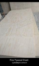 9,12,15 mm Poplar Core Pine Furniture Plywood For Kitchen Cabinets