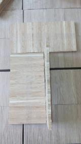 Solid Wood Flooring - Oak Slats For Industrial Parquet, 10 mm Thick