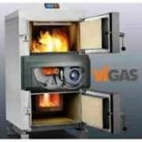 Wood Gas Generators - New Vigas 25 S Wood Gas Generator For Sale with AK 4000 Controller