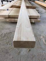 Drewno Iglaste  Drewno Klejone Warstwowo – Elementy Drewniane Łączone Na Mikrowczepy Na Sprzedaż - Belki Klejone Proste, Świerk  - Whitewood