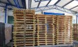 Pallets, Imballaggio e Legname - Pallet A Perdere, Reciclato - Usato In Buono Stato