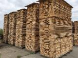 Laubholz  Blockware, Unbesäumtes Holz - 45mm Buche Schnittholz, ungedämpft