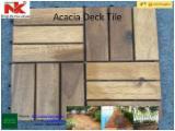 Waterproof Acacia Decking Tiles