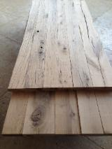Hardwood  Sawn Timber - Lumber - Planed Timber For Sale - AD Old Oak Planks, Thickness 40 / 50 / 60 mm