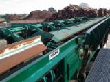 Grading Line with Ccross cut saw and debarker