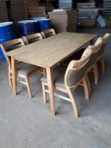 Rubberwood Dinning Furniture Sets