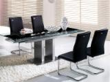 Living Room Furniture - Design Stainless Steel / Glass Sets