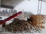 Kloce - Pelety - Wióry - Pył - Oflisy Na Sprzedaż - Brzoza, Grab, Topola Osika  Drewno Kominkowe/Kłody Łupane Białoruś