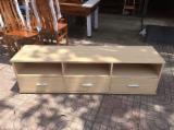 Livingroom Furniture For Sale - TV Rubberwood Cabinets With Light Color