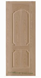 Vezelplaat Met Hoge Dichtheid (HDF), Essen Bruin, Essen Wit, Externe Panelen Voor Deuren