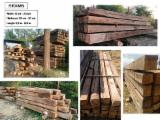Hardwood  Sawn Timber - Lumber - Planed Timber For Sale - Reclaimed Oak Wood Beams / Planks / Boards from Croatia