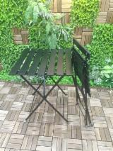 Wholesale Garden Furniture - Buy And Sell On Fordaq - Acacia / Steel Bistro Garden Sets