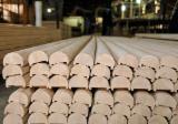 批发木材墙面包覆 - 护墙板,木墙板及型材 - 实木, 橡胶木, 模制