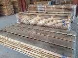 Drewno Liściaste Tarcica – Drewno Budowlane – Tarcica Strugana Na Sprzedaż - Tarcica Obrzynana, Dąb, PEFC