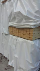 Softwood  Sawn Timber - Lumber For Sale - FSC, KD Spruce Planks, 22 x 100 x 3980 mm