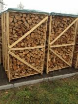 Firewood, Pellets And Residues importers and buyers - Beech Firewood Cleaved on Pallets