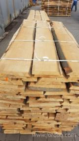 Hardwood  Unedged Timber - Flitches - Boules For Sale - KD Unedged Beech Boules