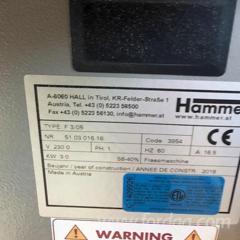 Hammer F3 (SH-011307) Single End Tenoning Machine